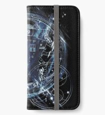 Time and space machine iPhone Wallet/Case/Skin