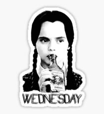 Wednesday Addams | The Addams Family Sticker