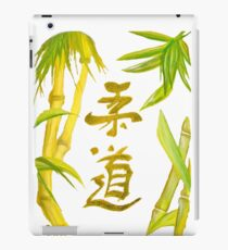 JuDo - the gentle way in white iPad Case/Skin