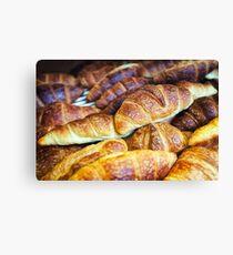 Croissants Canvas Print