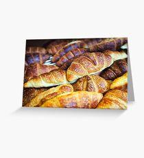 Croissants Greeting Card
