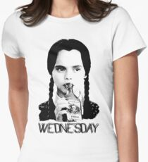 Wednesday Addams | The Addams Family Women's Fitted T-Shirt