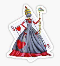 Queen of Heart Sticker