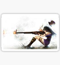 Caitlyn - Headshot - League Of Legends Sticker