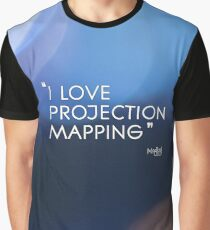 I love projection mapping Graphic T-Shirt