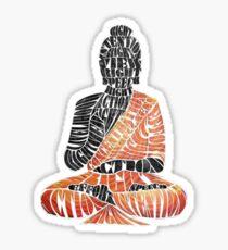The Eightfold Path Buddha Sticker
