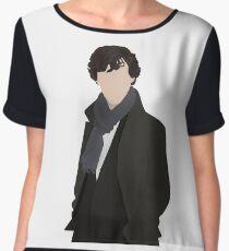 Sherlock Vector Chiffon Top