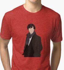 Sherlock Vector Tri-blend T-Shirt