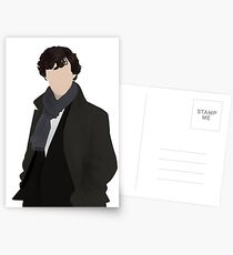 Sherlock Vector Postcards