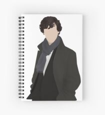Sherlock Vector Spiral Notebook