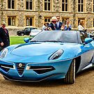 2016 Alfa Romeo Touring Disco Volante Spyder in Blue  by MarcW