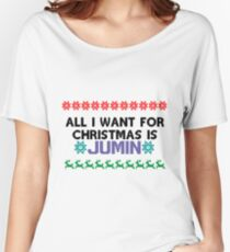 All I want for Christmas is Jumin Women's Relaxed Fit T-Shirt