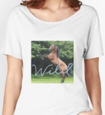 """Wild"" horse  Women's Relaxed Fit T-Shirt"