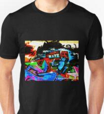 Graffiti Wall  Razz Philly Unisex T-Shirt