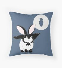 Batbun  Throw Pillow