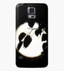 Vollmond - leuchtender Mond - bei Nacht - Dunkelheit Hülle & Skin für Samsung Galaxy