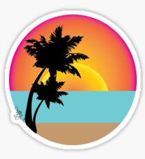 Ocean View Sticker