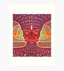 ALEX GREY FORM 11 GAGAK Art Print
