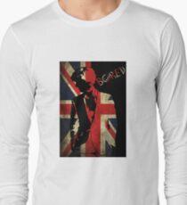 Sherlock Bored Vector Long Sleeve T-Shirt