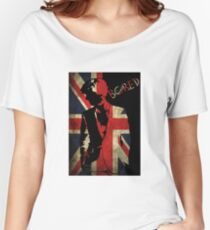 Sherlock Bored Vector Women's Relaxed Fit T-Shirt