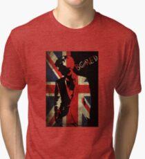 Sherlock Bored Vector Tri-blend T-Shirt