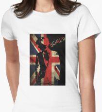 Sherlock Bored Vector Women's Fitted T-Shirt