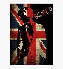 Sherlock Bored Vector Photographic Print