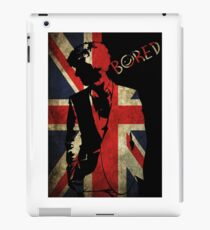 Sherlock Bored Vector iPad Case/Skin