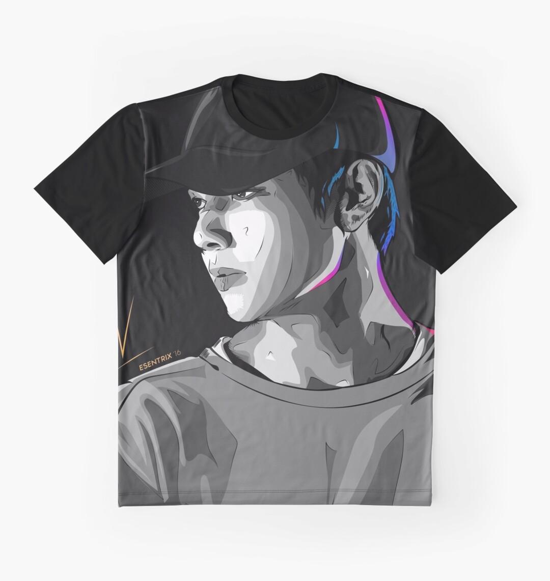 "Mens Wall Art bts taehyung v wall art"" graphic t-shirtsladycyprus   redbubble"