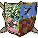 Kooky Coat of Arms by Peter Fenton