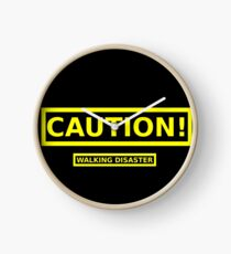 Caution! Walking Disaster Clock