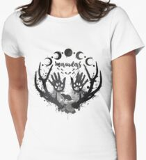 Marauders. Womens Fitted T-Shirt