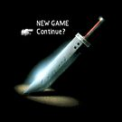 Final fantasy VII New game/Continue  by Geekstuff