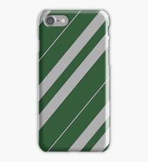 Slytherin Pattern - Hogwarts Houses iPhone Case/Skin