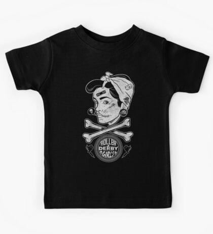 Zombie Roller Derby Girls Kids Clothes