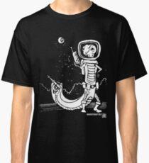 Dr. Johan Von Skinkely Investigates Sector 12 (White Version) Classic T-Shirt