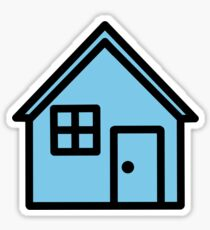 Troye Sivan Blue Neighbourhood House Sticker
