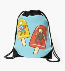 Super Soldier Ice Pops Drawstring Bag