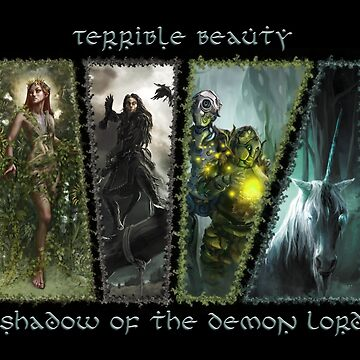 Terrible Beauty: Faerie of Shadow of the Demon Lord by SchwalbEnt