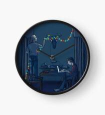 Christmas Lights Clock