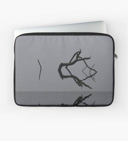 Adrift in Fog, without Direction Laptop Sleeve