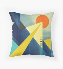 Heaven's Launchpad Throw Pillow