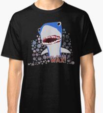 Wax! Shark Back to the future Classic T-Shirt