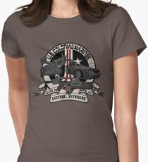 Anytime, Anywhere. Women's Fitted T-Shirt