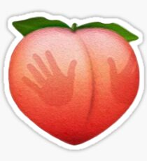 Booty Peach  Sticker
