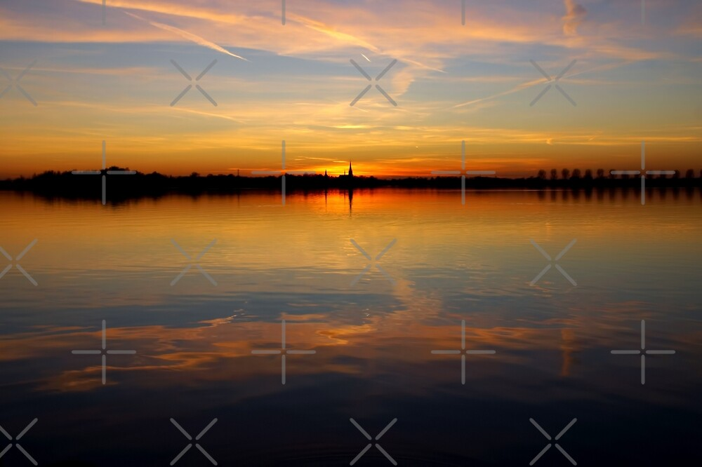 Sunset Reflections by AnnieSnel