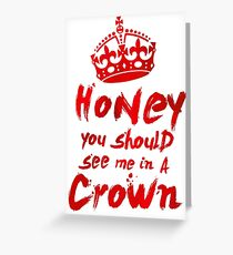 Moriarty Quote Greeting Card