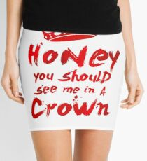 Moriarty Quote Mini Skirt