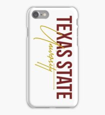 Texas State University iPhone Case/Skin