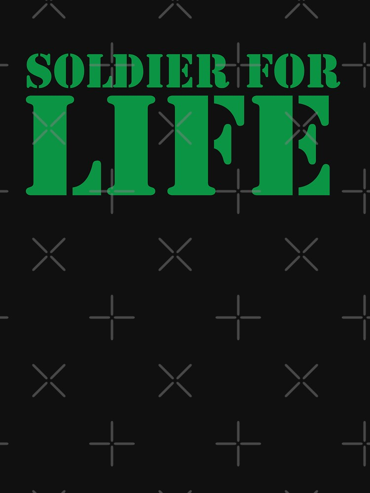 MILITARY SOLDIER for LIFE! by jazzydevil